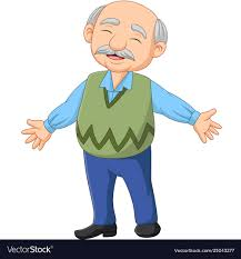 Image result for cartoon images old man